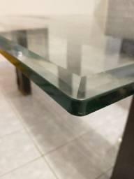 Tampo de vidro para mesa 1,60cm x1,60cm