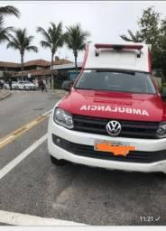 Ambulância UTI - Amarok 2015