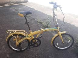 Bicicleta dobrável banco do Brasil Original