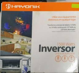 Inversor 1500watts, 24vdc/127v - Hayonik