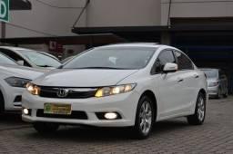 HONDA CIVIC EXS 1.8 AUTOMÁTICO 2013 Top de linha