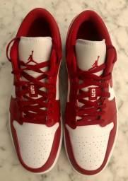 Nike air Jordan 1 low - ?gym red/white