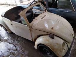 VW Fusca 1500 1971 (carroceria, suspensão, rodas, documento)