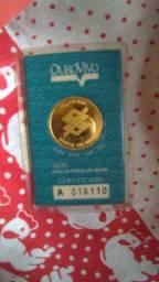 Moeda de ouro au 999 10g Banco do Brasil