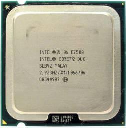 Processador intel dual core core2duo e7500 socket 775
