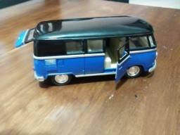 Kinsmart Miniatura 1962 Volkswagem Classical Bus