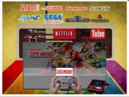 Retrô Game Box 6.580 MXQPRO 4k Android