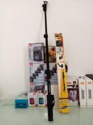 Bastão pau de Selfie monopod 125cm