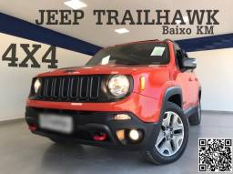 2016 Jeep Trailhawk 4x4 Diesel -Baixo KM Impecável- com Garantia