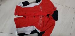 Conjunto Dainese calça couro e jaqueta cordura tamanho 40 calça  e 42 jaqueta