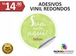 Fábrica de Adesivos em vinil recortados e com pequenos formatos.