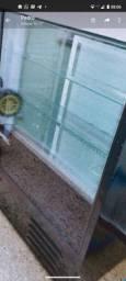 Estufa e vitrine refrigerada