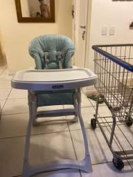 Cadeira alimentacao para bebe burigotto merenda