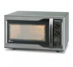 Título do anúncio: Forno elétrico Novo fischer Hot Grill 44 litros Prata.