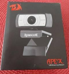 Webcam Redragon Live Streaming Gamer 1080p 30fps Full Hd Alta Resolução