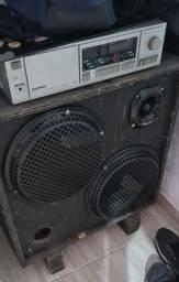 V/t Caixa + receiver 2x 12' 550w