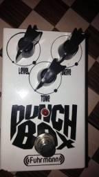 Pedal furhmann punchbox distorção