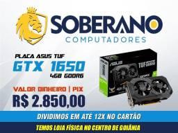 Placa de Vídeo Asus Tuf GTX 1650 4GB - Monte seu PC Gamer aqui
