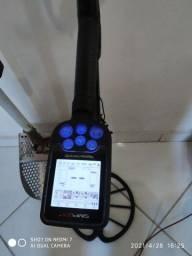 Detector de metal nokta senplex mais aparelho maravilhoso