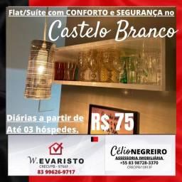 Título do anúncio: Flat/Suíte com Conforto e Segurança no Castelo Branco