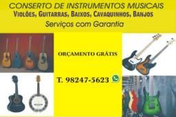Conserto de Instrumntos Musicais