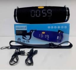Caixa De Som Bluetooth Radio Relógio Yx-176-h'maston - Loja vseletro
