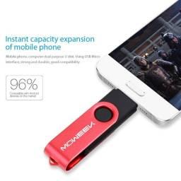 Pen Drive Multifuncional Moweek 32gb - C/adaptador P/celular