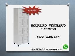 Promoção armário roupeiro de aço para vestiário