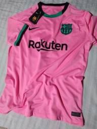 Camisa Barcelona 2021 tamanho G