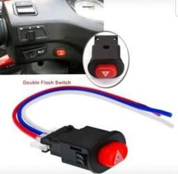 Título do anúncio: Botão De alerta Para MOTO 3 fios