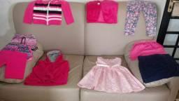 Roupas infantil veste 2 anos ao 4 anos