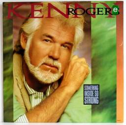 LP Vinil - Kenny Rogers - Something Inside So Strong (usado)