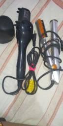Modelador de cachos e escova rotativa