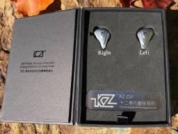 Fone Kz Zsx Terminator Novo Lacrado, Sem Microfone