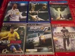 JOGOS DE PS3 & PS4 !