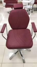 Cadeira hidráulica para salão ou barbearia