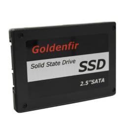 Ssd Goldenfir 480gb 2.5pol sata 3 para pc ou notebook- NOVO