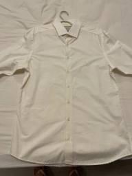 Camisa dudalina creme usada apenas 1x