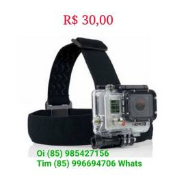 Auporte Cabeça GoPro Câmeras de Ação