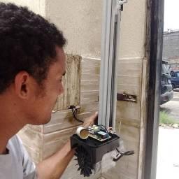 Instalação de Portão Automático, Interfones, Fechadura Elétrica, Manutenção, etc
