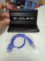 Case para HD Externo SATA 2.5 USB 3.0