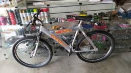 Bicicleta aro 26 alumínio 18 manchas