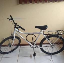 Bicicleta com garupa