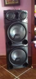 Caixa Amplificada Gradiente GCA-103 Power Bass