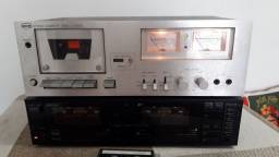 2 Tape Decks no estado