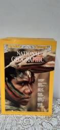 12 revistas National geografhic 1972 americanas jane/dez