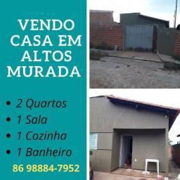 Casa Murada em Altos Próx ao Centro