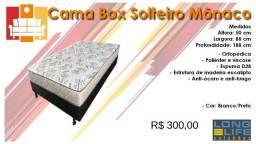Cama box Solteiro Mônaco/ Frete à consultar