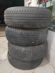 Jogo pneus Bridgestone 265/65/17 l200, Hilux, Pajero, sw4, frontier