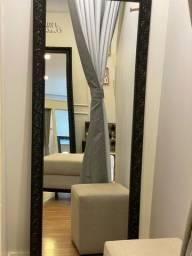 Espelhos + cortinas para provador